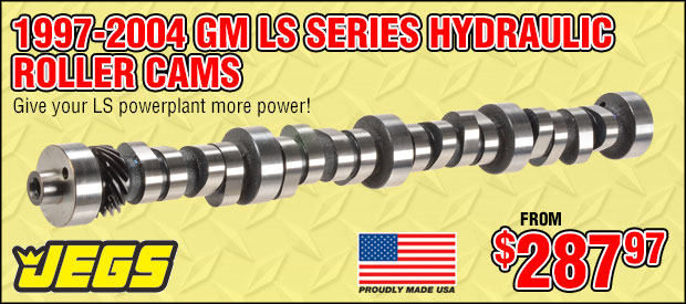JEGS 1997-2004 GM LS Series Hydraulic Roller Cams